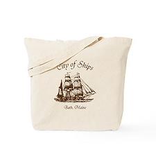 City of Ships Tote Bag