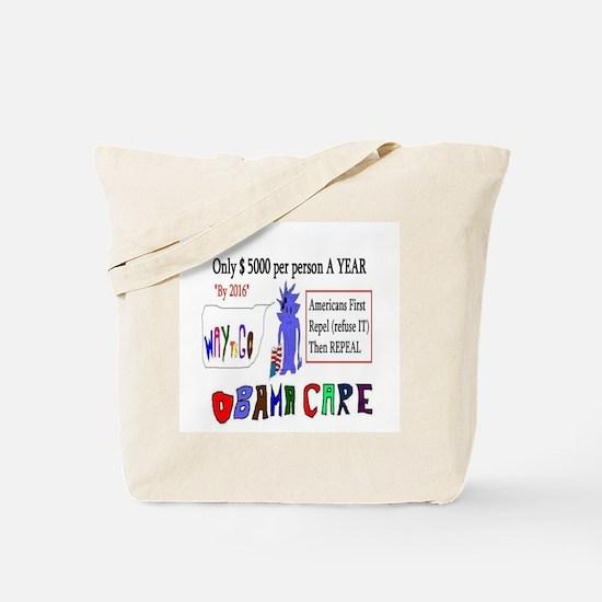 Obamacare Repeal It Tote Bag