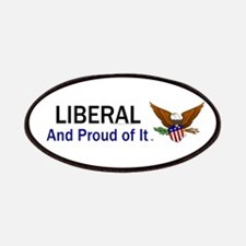 Liberal Slogan Patches