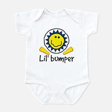 PinKidz Lil Bumper (blue) Infant Bodysuit