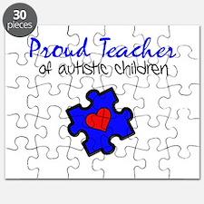 Proud Teacher of Autistic Children Puzzle
