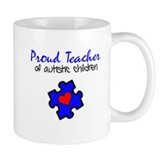 Proud Teacher of Autistic Children Mug