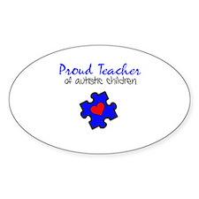 Proud Teacher of Autistic Children Decal
