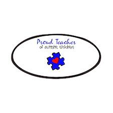 Proud Teacher of Autistic Children Patches