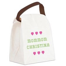 MomMom Christina Canvas Lunch Bag