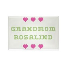 Grandmom Rosalind Rectangle Magnet