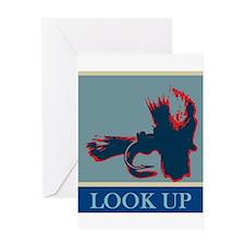 Look up_RW Greeting Card