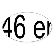 46erblack Decal
