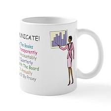 Investor Relations Mug