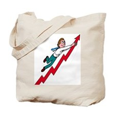 Investing's Ups and Downs Tote Bag