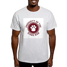 Kishu Ken Ash Grey T-Shirt