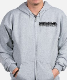 Air Traffic Controllers Designs Zip Hoodie
