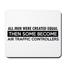 Air Traffic Controllers Designs Mousepad