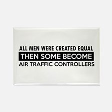 Air Traffic Controllers Designs Rectangle Magnet