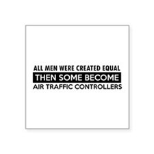 Air Traffic Controllers Designs Square Sticker 3""