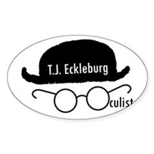 T.J. Eckleburg Decal