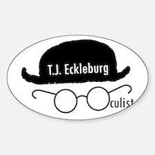 T.J. Eckleburg Decal