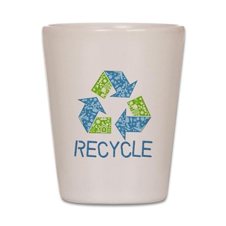 Recycle Shot Glass