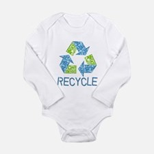 Recycle Long Sleeve Infant Bodysuit