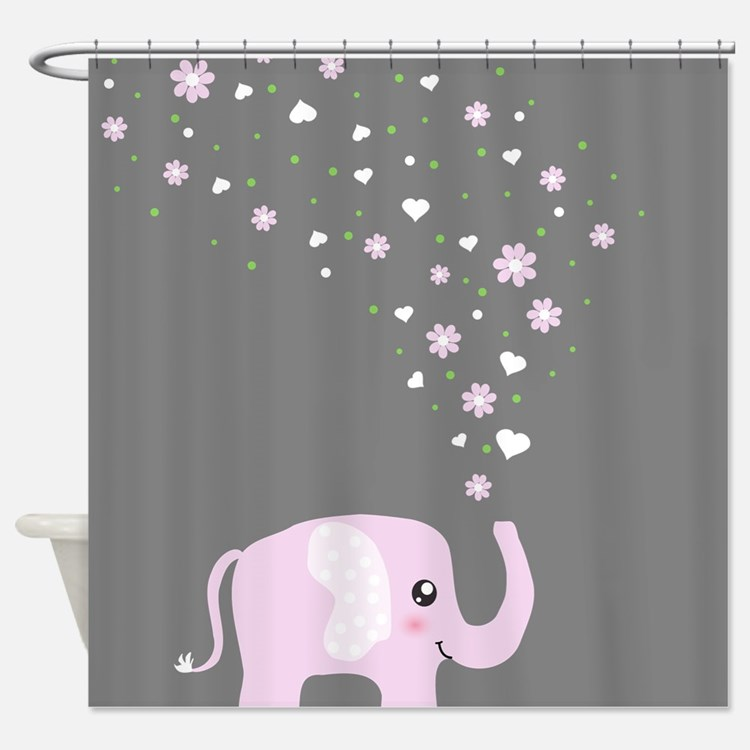 Anime Cute Japan Girl Shower Curtains
