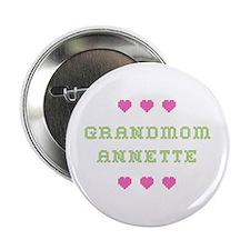 Grandmom Annette Button