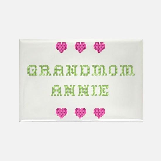 Grandmom Annie Rectangle Magnet