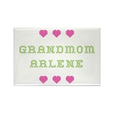 Grandmom Arlene Rectangle Magnet