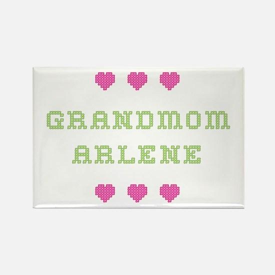 Grandmom Arlene Rectangle Magnet