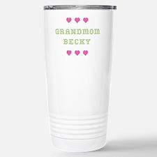 Grandmom Becky Travel Mug