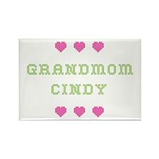 Grandmom Cindy Rectangle Magnet