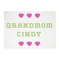 Grandmom Cindy 5'x7' Area Rug