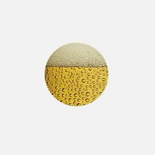 Beer Bubbles Mini Button