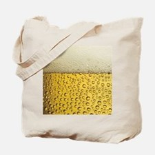 Beer Bubbles Tote Bag