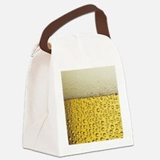 Beer Bubbles Canvas Lunch Bag