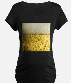 Beer Bubbles Maternity T-Shirt