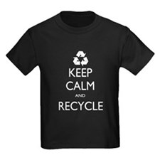 Keep Calm and Recycle T