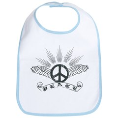 Peace with Wings Bib