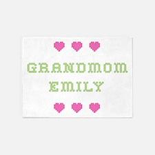 Grandmom Emily 5'x7' Area Rug
