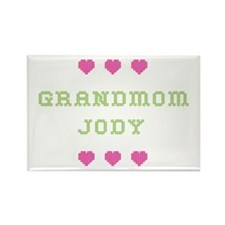 Grandmom Jody Rectangle Magnet