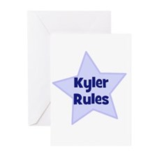 Kyler Rules Greeting Cards (Pk of 10)