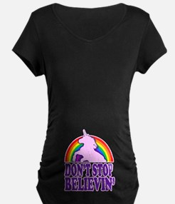 Dont Stop Believin in Unicorns (Distressed) Matern