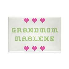 Grandmom Marlene Rectangle Magnet