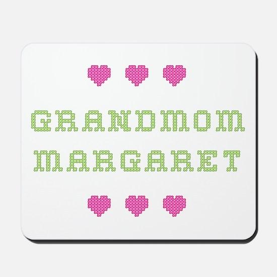 Grandmom Margaret Mousepad