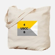 West Point Guidon Company B 4th Regiment Tote Bag