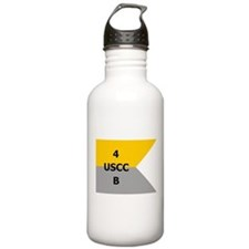 West Point Guidon Company B 4th Regiment Water Bottle