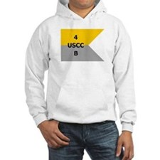 West Point Guidon Company B 4th Regiment Hoodie