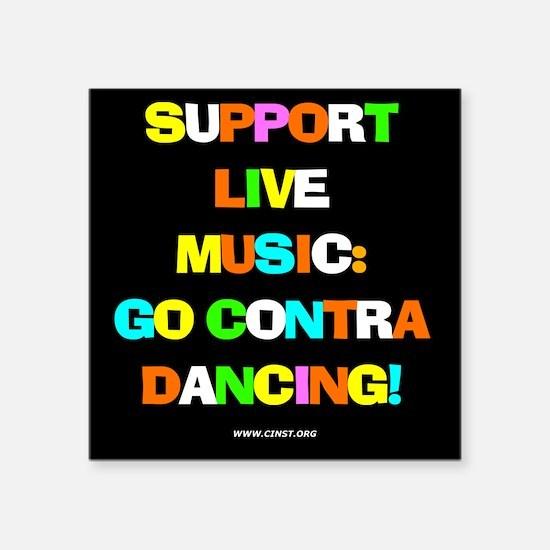 Contra Dance Sticker