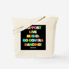 Contra Dance Tote Bag