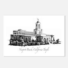 Newport Beach, California Tem Postcards (Package o