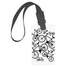 Bicycles Big and Small Luggage Tag